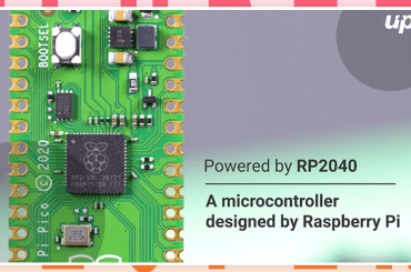 Raspberry Pi Pico Microcontroller with Custom RP2040 Processor Launched